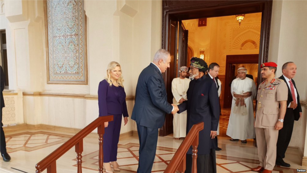 Zarif says Oman informed Iran about Netanyahu's trip in October