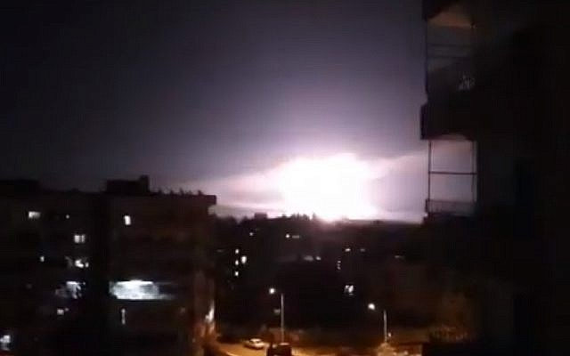 Israeli missile attack on Damascus kills Syrian, Iranian fighters