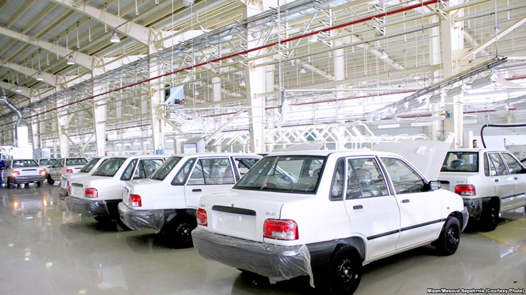 Iran to spend $1 Billion from reserves to prop up its ailing automakers