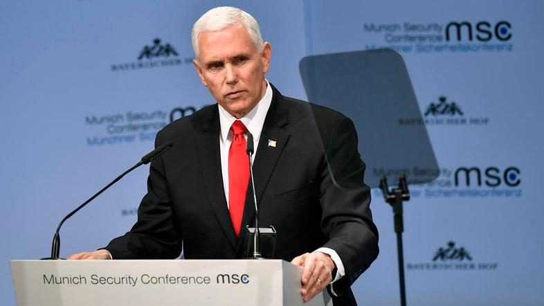 Pence announces sanctions on Iranian-linked leaders in Iraq