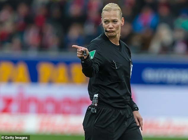 Iran blocks TV broadcast of German top flight football match at the last minute 'because it featured a female referee wearing shorts'