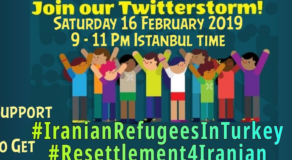 Frustrated Iranian refugees in Turkey launch Twitterstorm