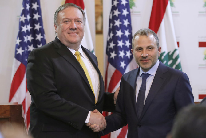 Pompeo urges Lebanon to move away from Iran and Hezbollah's 'dark ambitions '