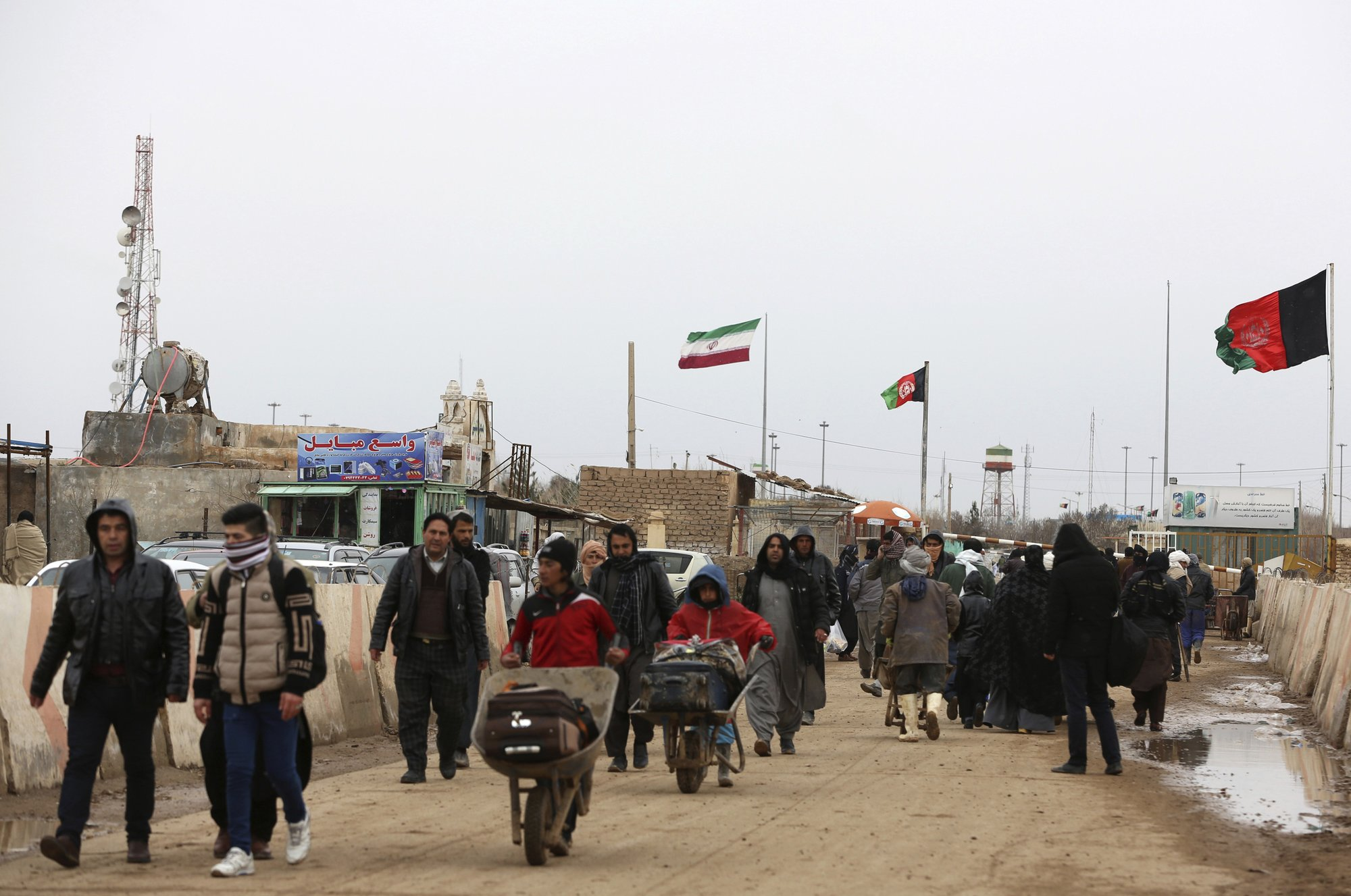 Cold homecoming for Afghans paid by Iran to fight in Syria