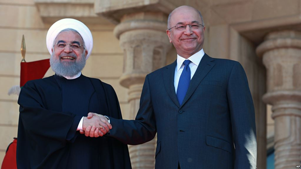 Iranian President's Iraq trip signifies broader imperial goals