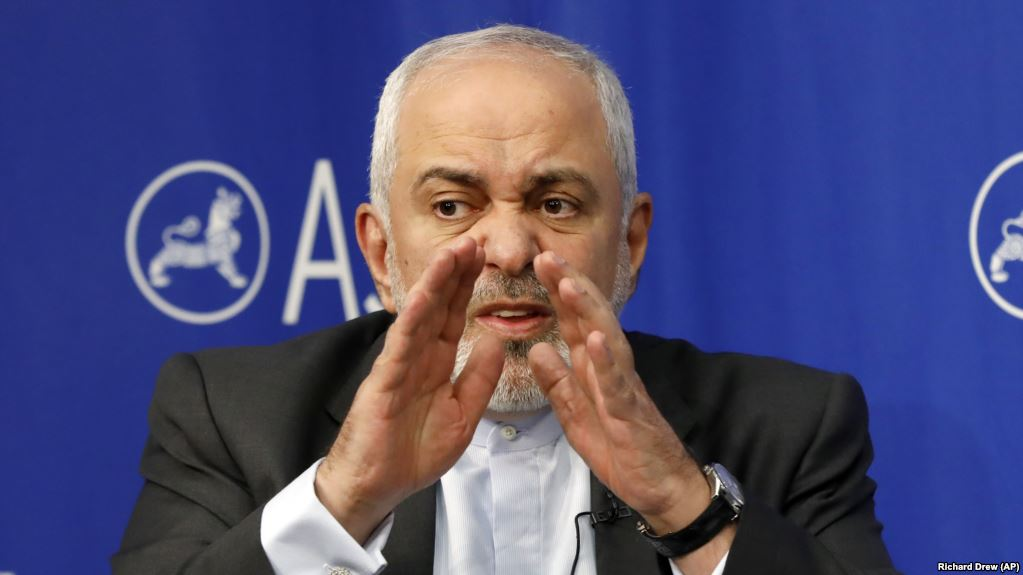 Iran's Zarif says U.S. plotting to fabricate war pretext