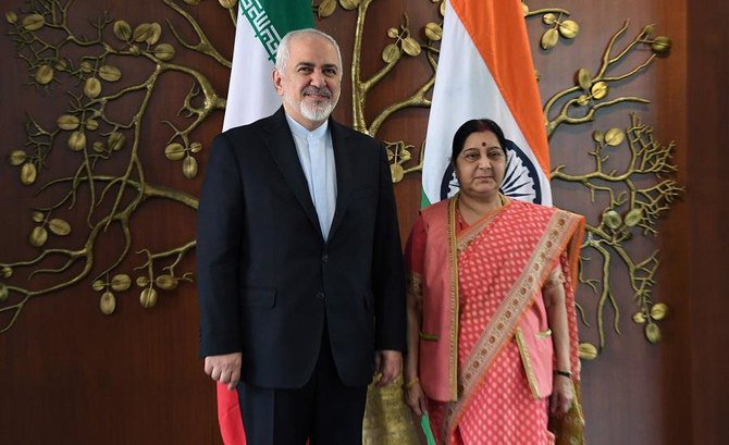 Iran foreign minister in India for talks after US sanctions