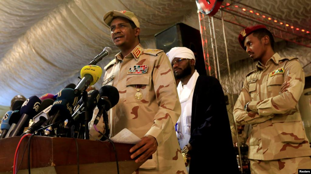 Sudan's transitional council vows to back Saudi Arabia against Iran threat