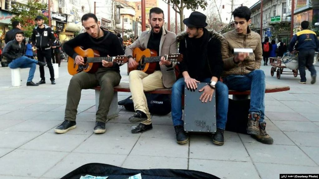 Iran's Cyber Police goes after street musicians
