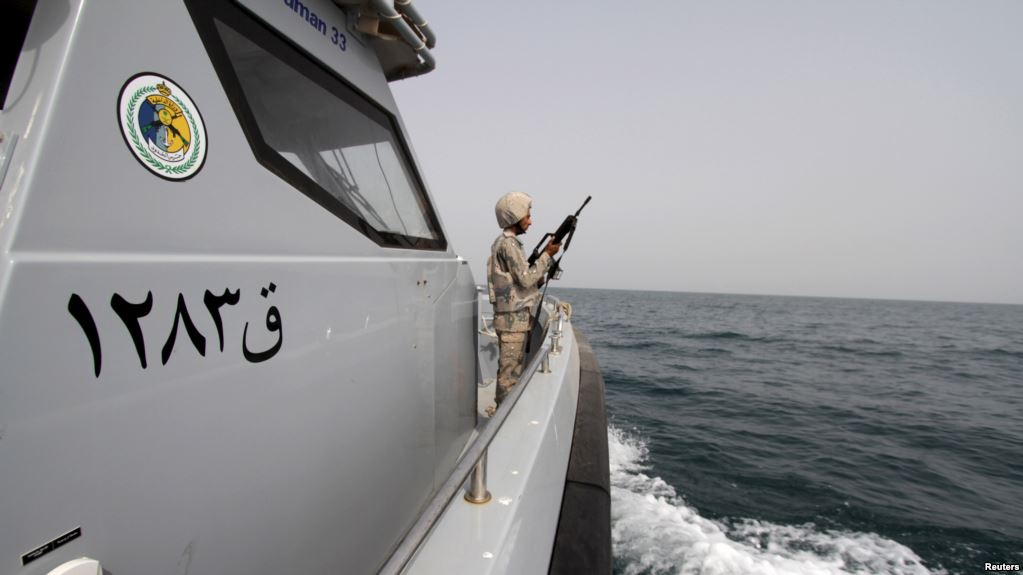 Arab Coalition destroys five Iranian-made naval mines in Red Sea