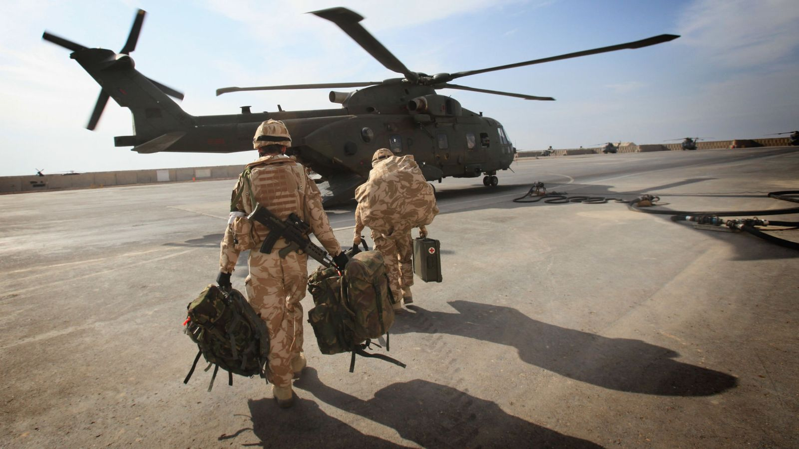 UK raises threat level for personnel in Iraq due to 'heightened risk from Iran'