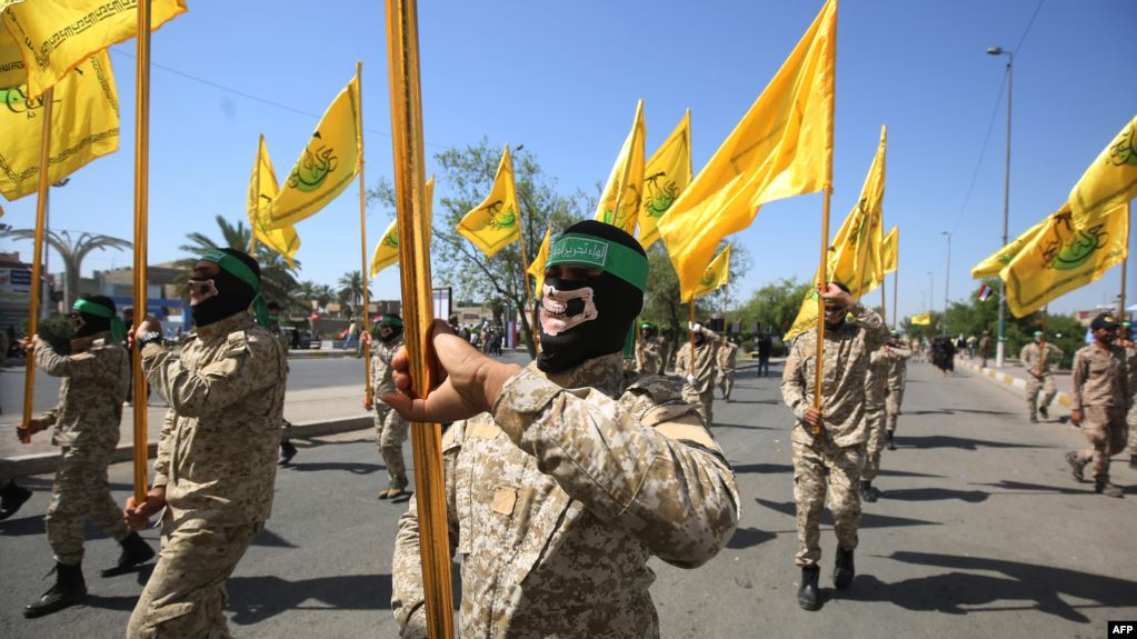 Iran honors Iraqi Shiite paramilitary group that US labels terrorists