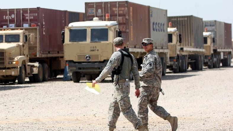 US forces prepare to evacuate contractors from Iraqi base amid tension with Iran
