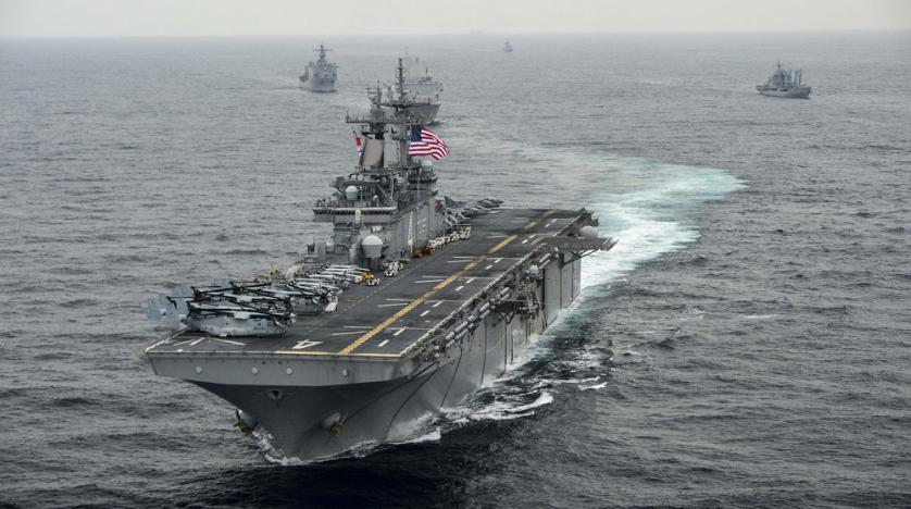Another US warship arrives in Middle East amid boiling tensions with Iran