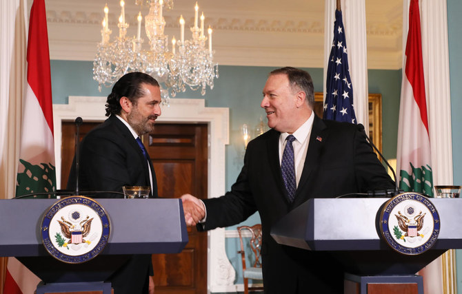 Pompeo praises Lebanese government for standing firm against Iranian threat