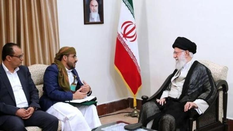 UAE says Khamenei meeting proves Houthis are Iran's proxy