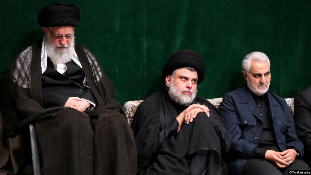 Iraq's Al-Sadr in Iran meets Khamenei