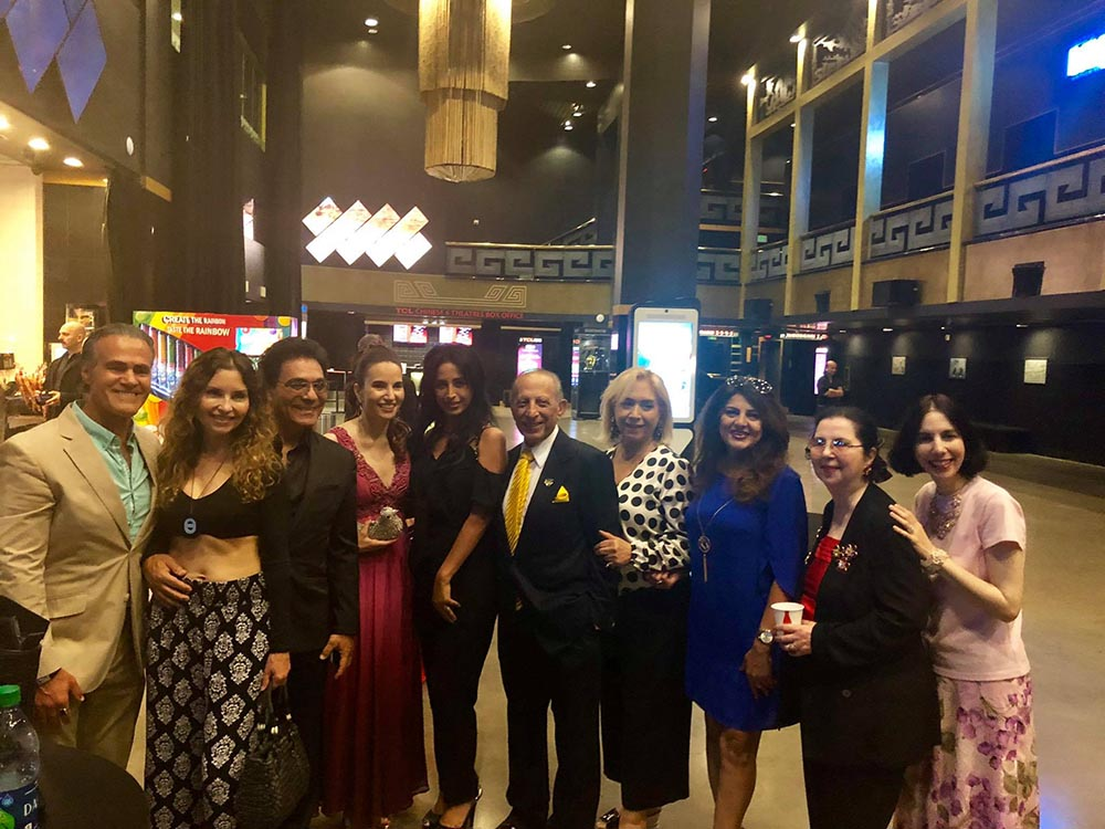 Multi award-winning filmmaker Harley Wallen's Eternal Code starring noted Iranian-American actress Vida Ghaffari had a star studded west coast premiere