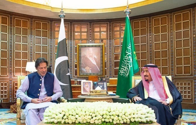 Pakistani PM welcomes Saudi 'initiative' for peace with Iran