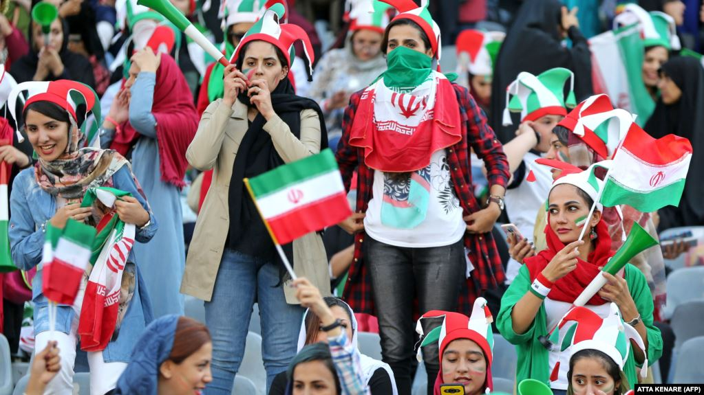 Iranian government tries to hijack victory for women in stadiums