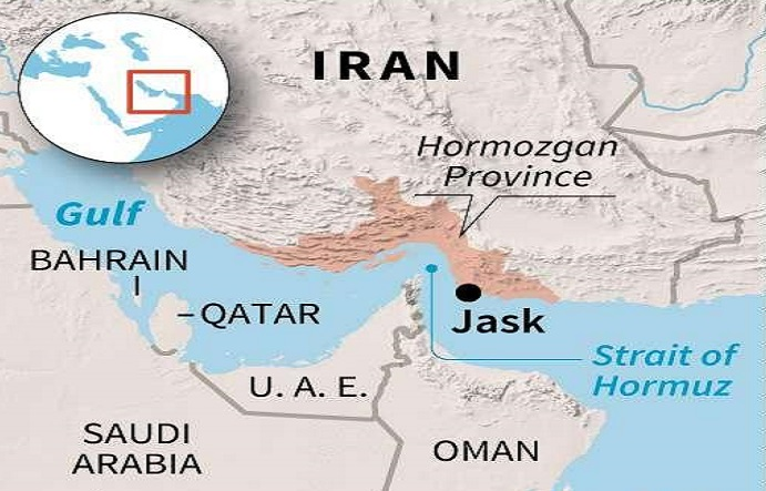 Iran works to reroute oil exports away from Strait of Hormuz