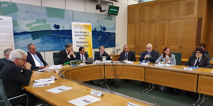 Uk Parliament conference weighs human rights violations in Iran