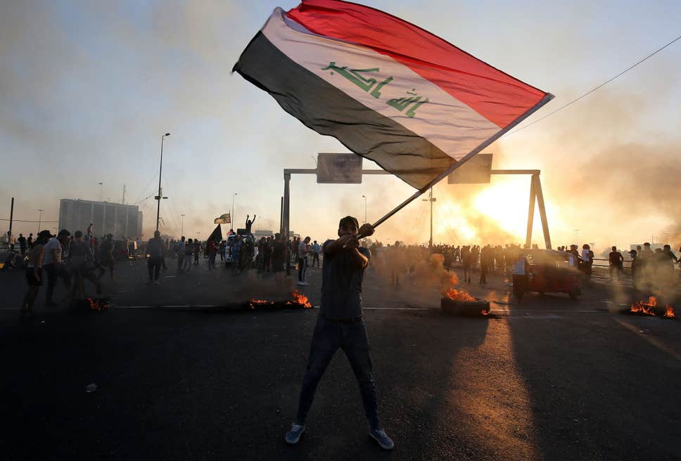 Why has Iran ordered its proxies to aggressively suppress Iraq's ongoing uprising