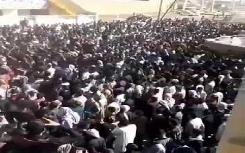 Protests continued in Iran's oil-rich province