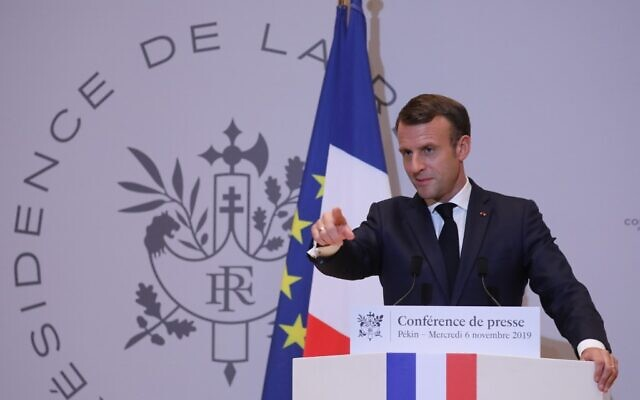 Macron calls on Iran to respect nuclear obligations