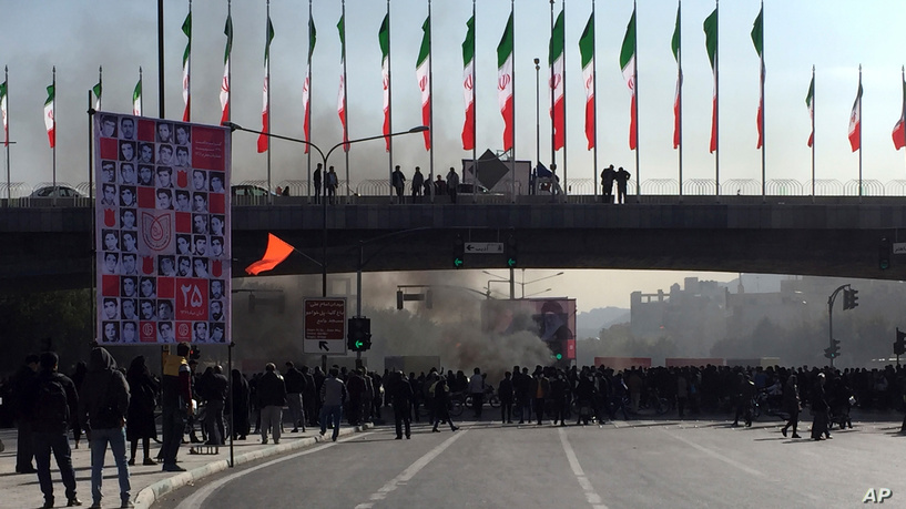 Social media joins protests on the ground in Iran despite internet blackout