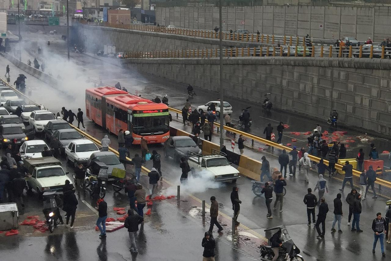 At least 12 people killed in Iran amid protests over fuel prices