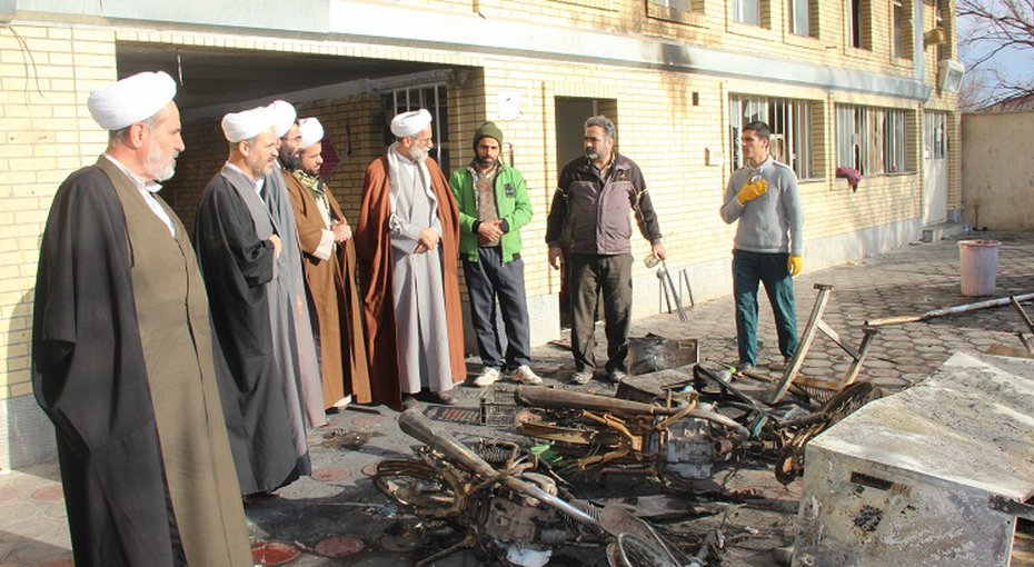Attacks on nine seminaries and leading clerics' offices