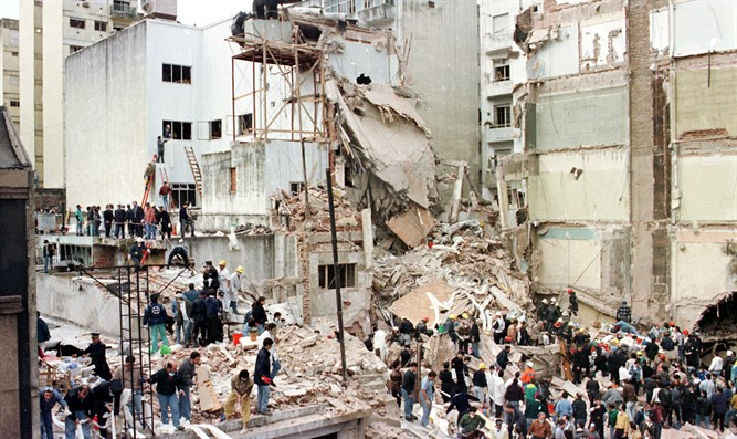 Argentina's Jewish community calls for action against Iran, Hezbollah for 1994 bombing