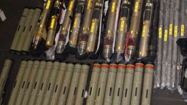 US State Department publishes photos of seized Iranian missiles
