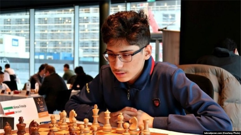 Iranian chess player who refused to play for his country wins silver medal