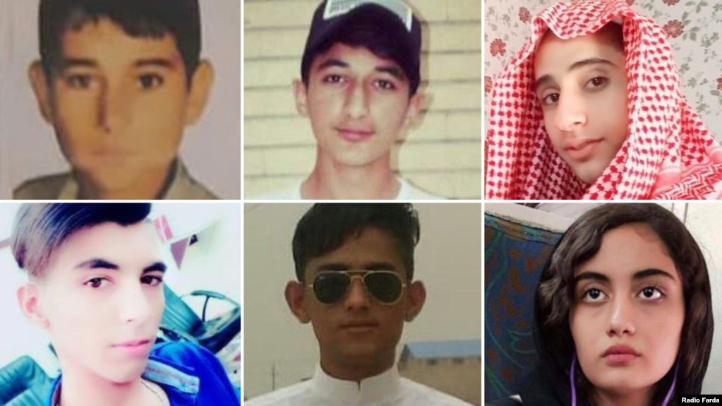 The killing of eighteen adolescents in Iran protests confirmed