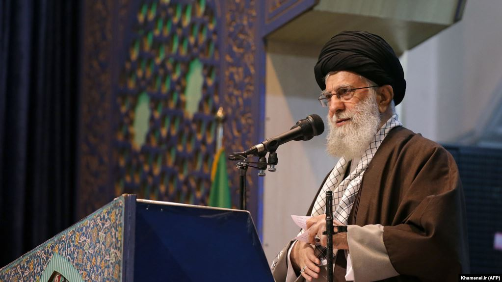 Why did Khamenei deliver a Friday sermon after eight years?