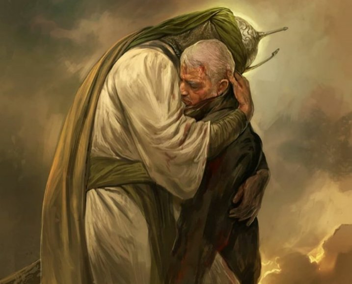How depicting Imam Hussein hugging Soleimani reflects the extent of the Iranian theocracy's extremist ideology