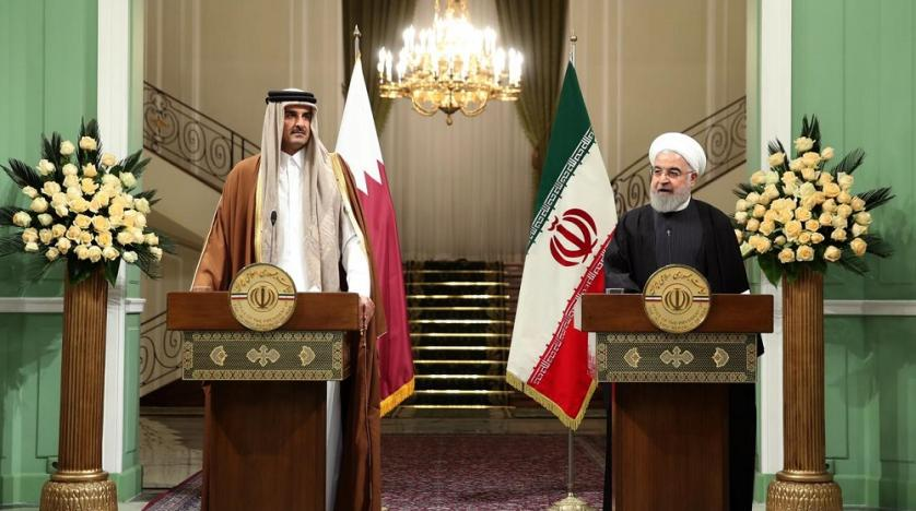 Iran, Qatar agree on 'de-escalating' regional tensions