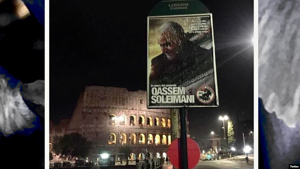 Pro-Assad activists in Italy launch publicity campaign for Iran's Soleimani