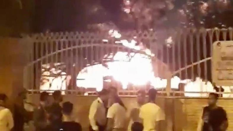Large fire breaks out in garden in Iran's Shiraz