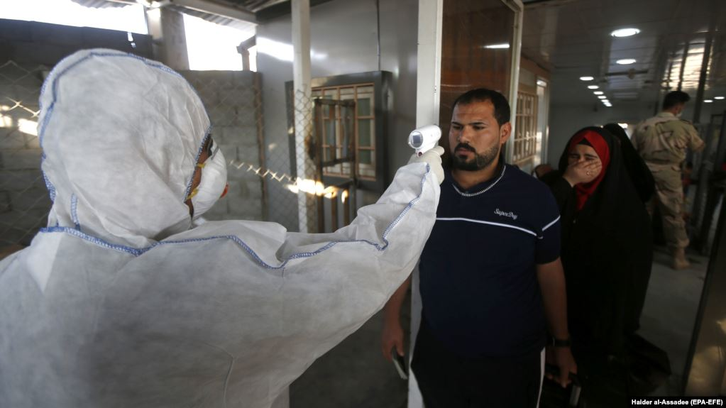 Iran closes Iraq border points to stem spread of coronavirus variant