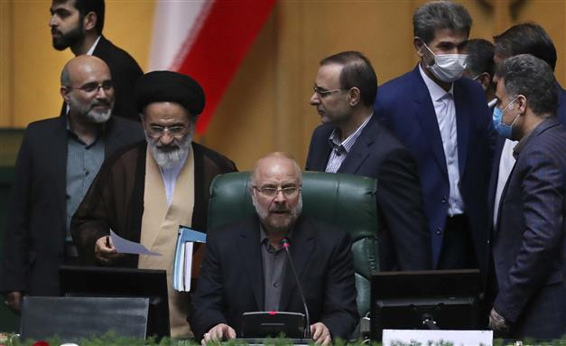 Iran's new Parliament Speaker kicks off term by rejecting negotiations with US