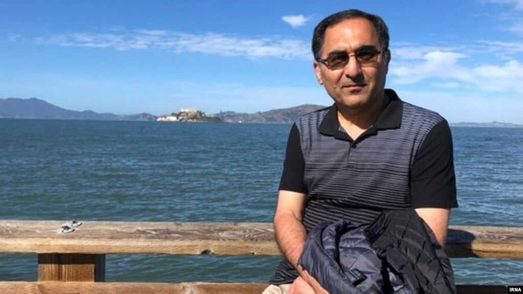 Iranian professor jailed in US returns home