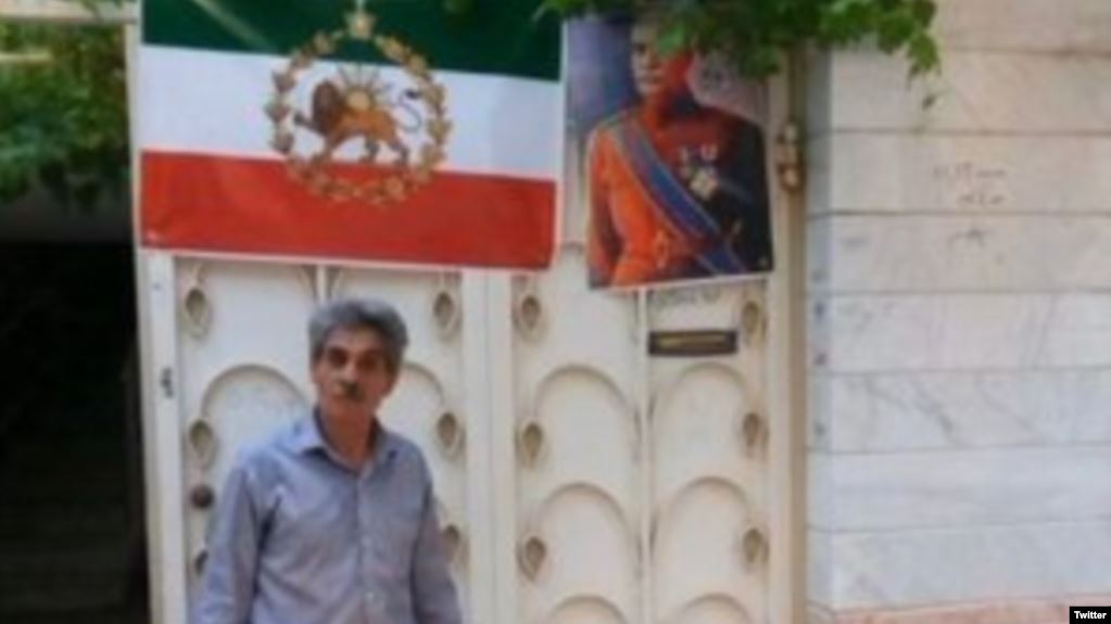 Iranian man arrested for using monarchy flag, posters of deposed kings