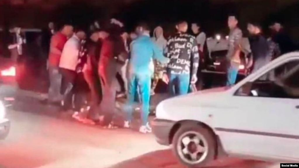 Iran arrests 'large group of people' for dancing in the streets