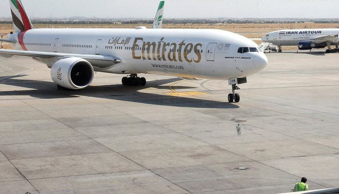 US fines Emirates airline $400,000 for using prohibited Iranian airspace