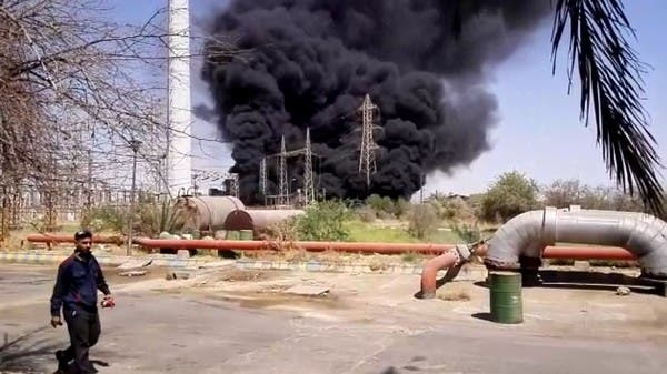 Fire flares at Iranian power plant, latest in series of incidents