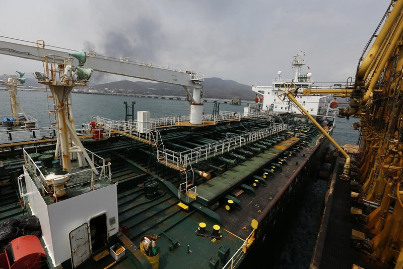 U.S. seizes Iranian gas heading for Venezuela