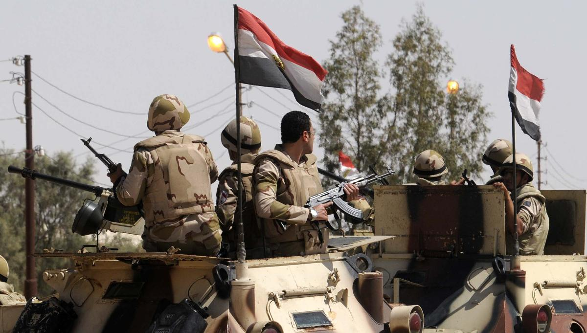 Have Egyptian troops joined Iran-backed forces in Syria?